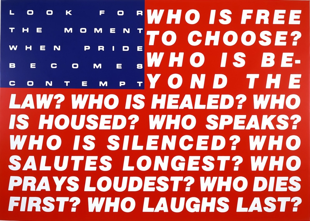 barbara-kruger , untitled (questions), 1991